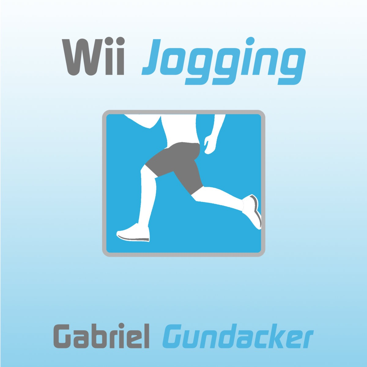 "Album Art for ""Wii Jogging"" by Gabriel Gundacker"