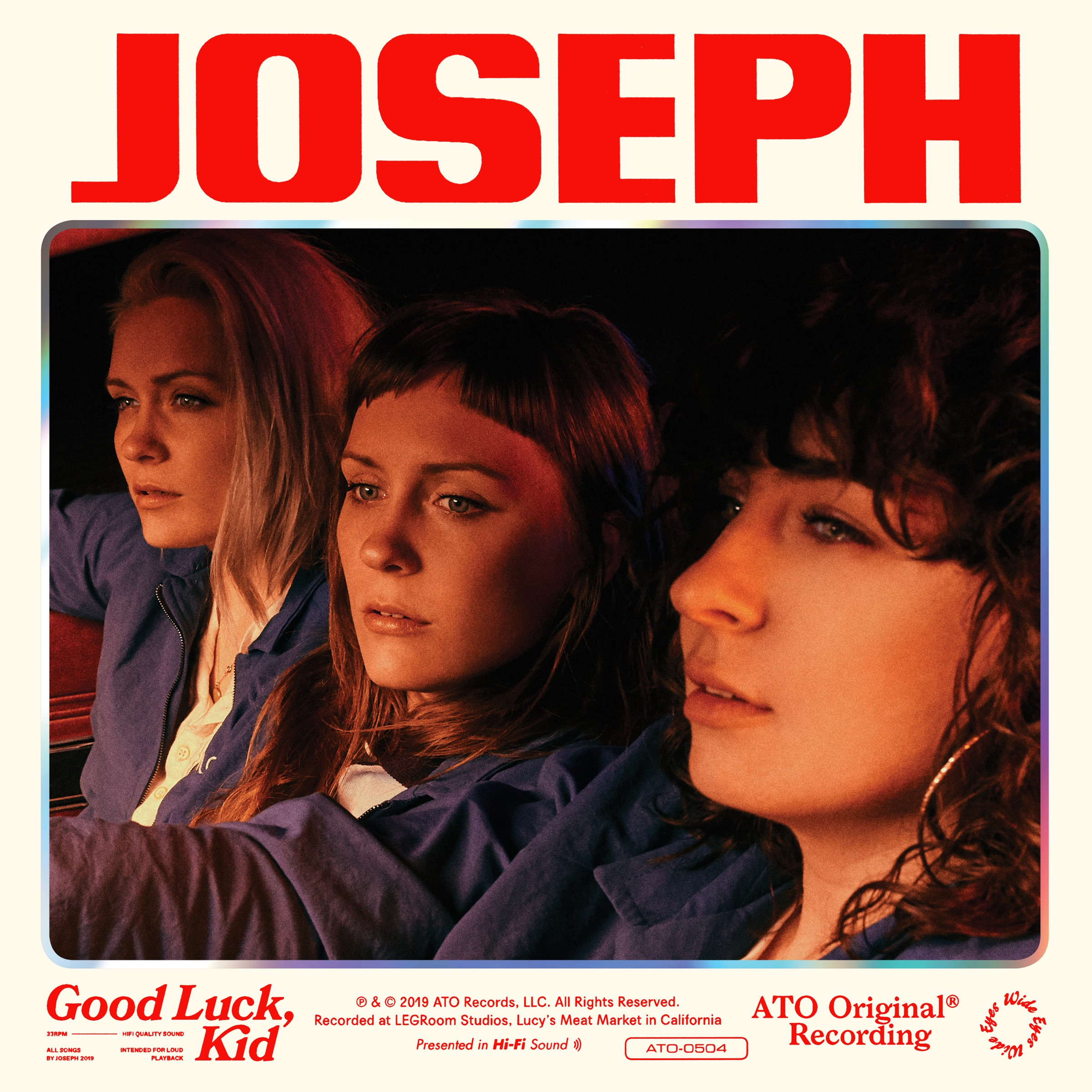 "Album Art for ""Good Luck, Kit"" by Joseph"